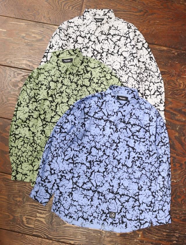 MASSES  「SHIRTS CRACK」  レギュラーカラーシャツ