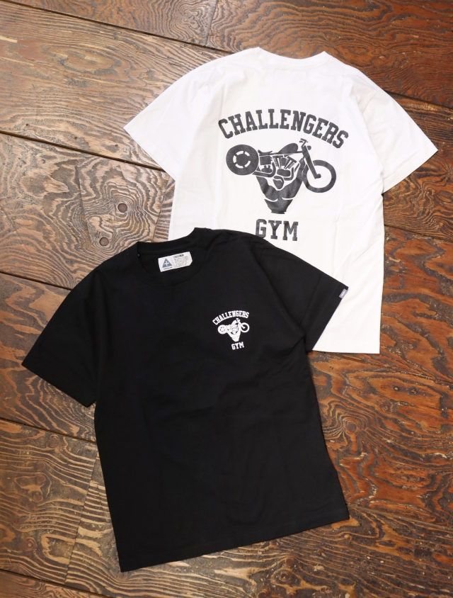 CHALLENGER  「CHALLENGERS GYM TEE」  プリントティーシャツ