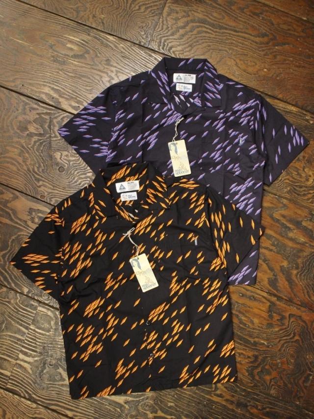 CHALLENGER × REYN SPOONER   「 FISH WARM SHIRT」 オープンカラーシャツ