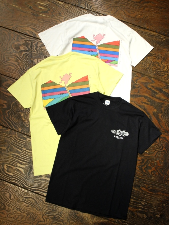 RADIALL     「MANTLE - CREW NECK T-SHIRT S/S」 プリントティーシャツ