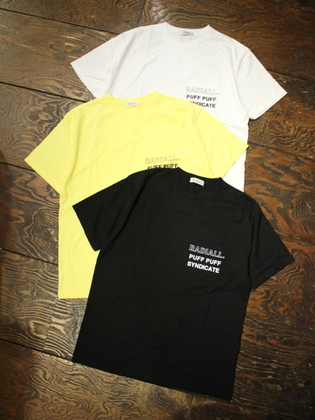 RADIALL    「SYNDICATE - CREW NECK POCKET T-SHIRT S/S」 ポケットティーシャツ