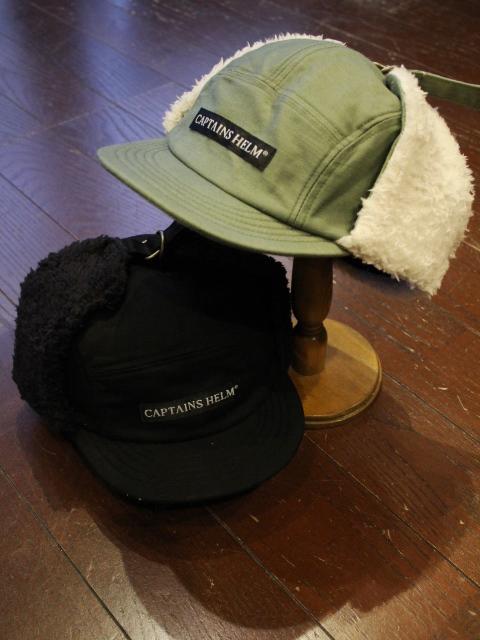 CAPTAINS HELM 「#WINTER CAMP CAP」 ボアキャップ