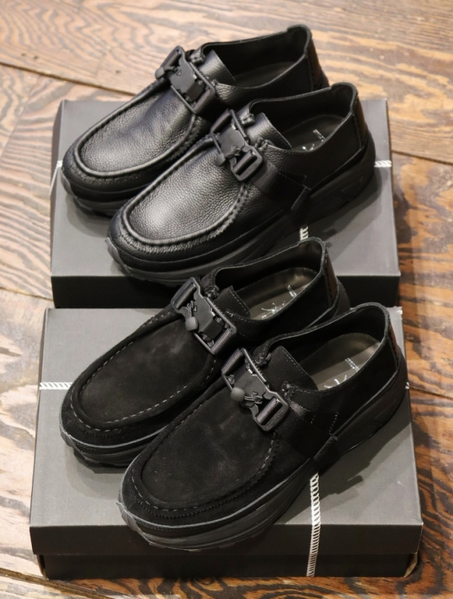 COOTIE × Tomo&Co.  「 Mocca Strap Shoes 」 モカストラップシューズ