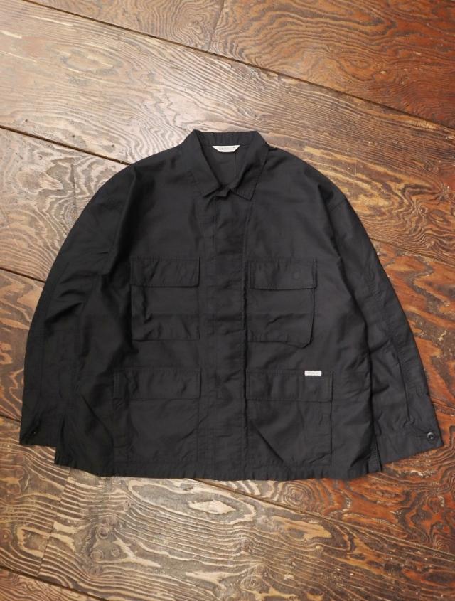COOTIE  「Back Satin BDU Jacket 」  バックサテン シャツジャケット