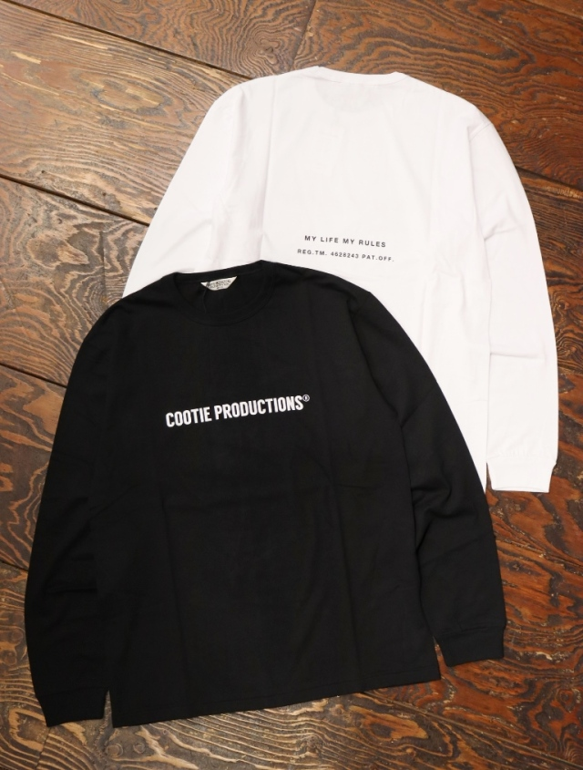 COOTIE  「 Print L/S Tee (COOTIE LOGO) 」 プリントロンティー