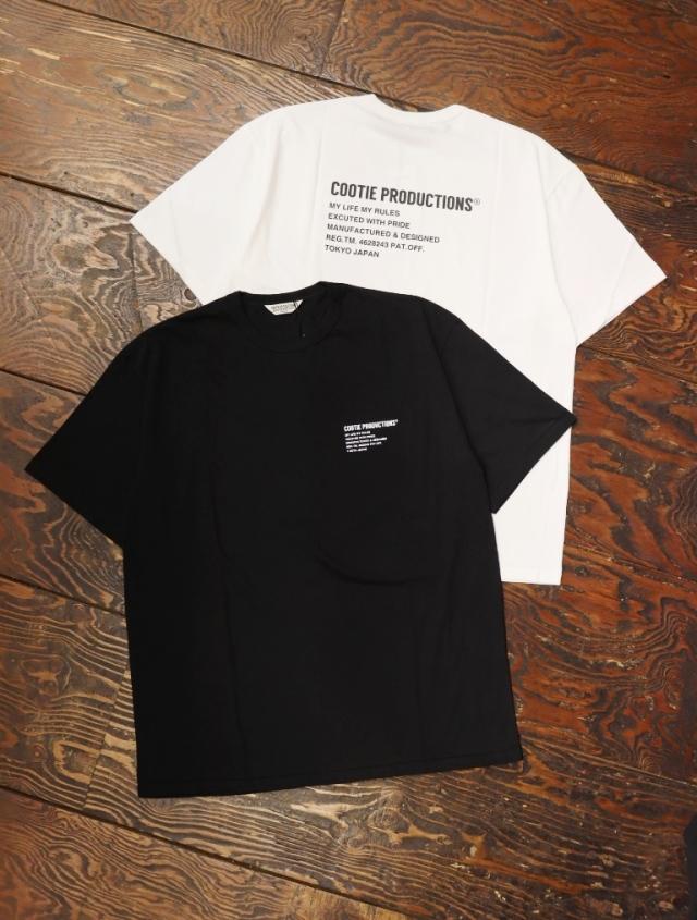 COOTIE  「Print S/S Tee (LOGO)」 プリントティーシャツ