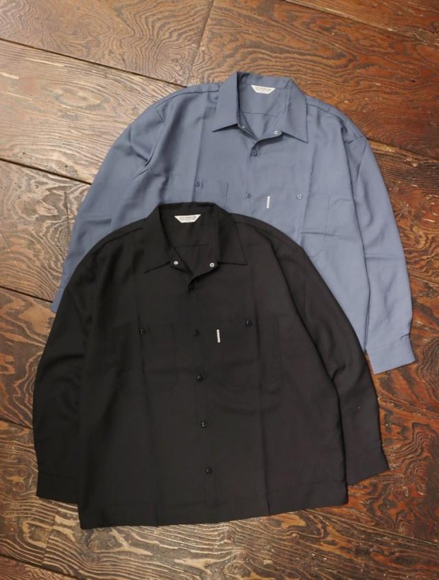 COOTIE  「 T/W Work Shirt 」 オープンカラーシャツ