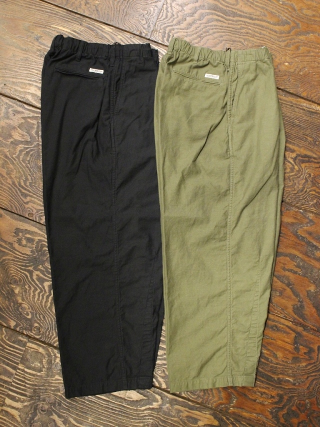 COOTIE  「Back Satin Drawstring Easy Pants」 バックサテンイージーパンツ