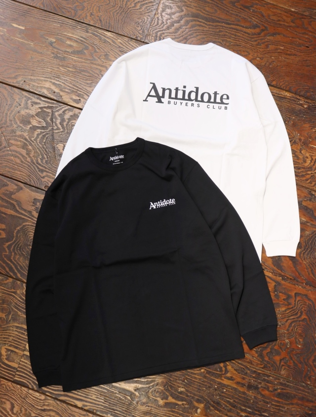 ANTIDOTE BUYERS CLUB  「Pima Cotton L/S Tee」  プリントロンティー