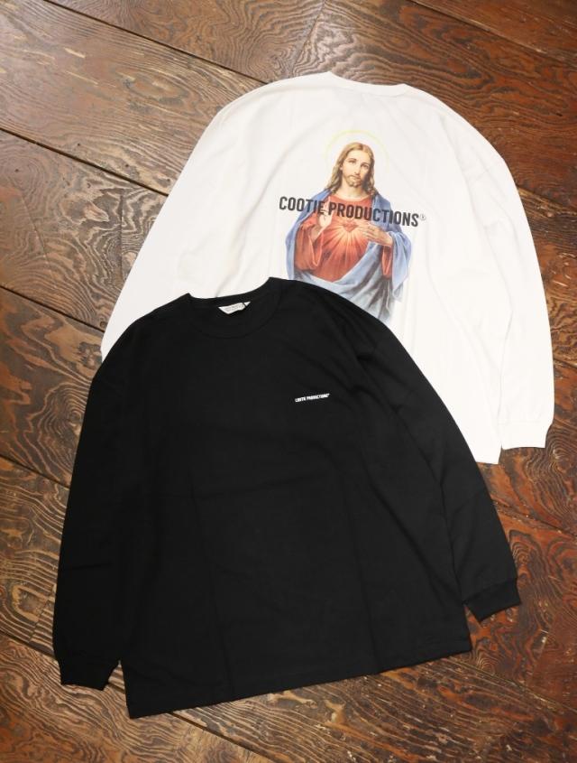 COOTIE  「 Print Oversized L/S Tee (JESUS) 」 オーバーサイズロンティー