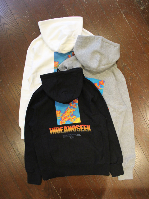 HIDEANDSEEK 「Thermography Hooded Sweat Shirt」 プルオーバーパーカー