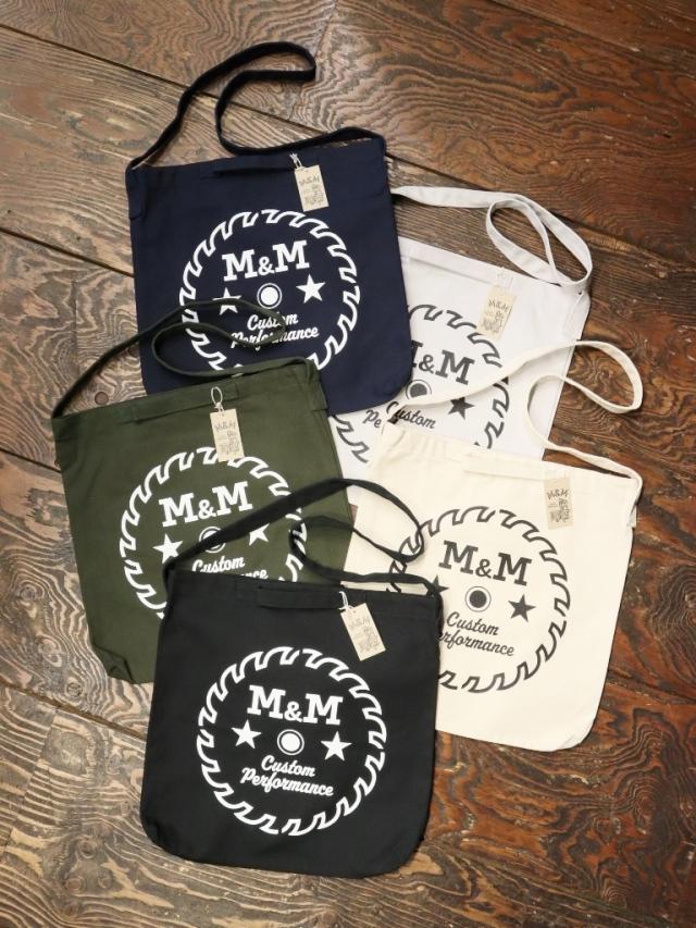 M&M CUSTOM PERFORMANCE  「CANVAS TOTE BAG」 キャンバストートバッグ