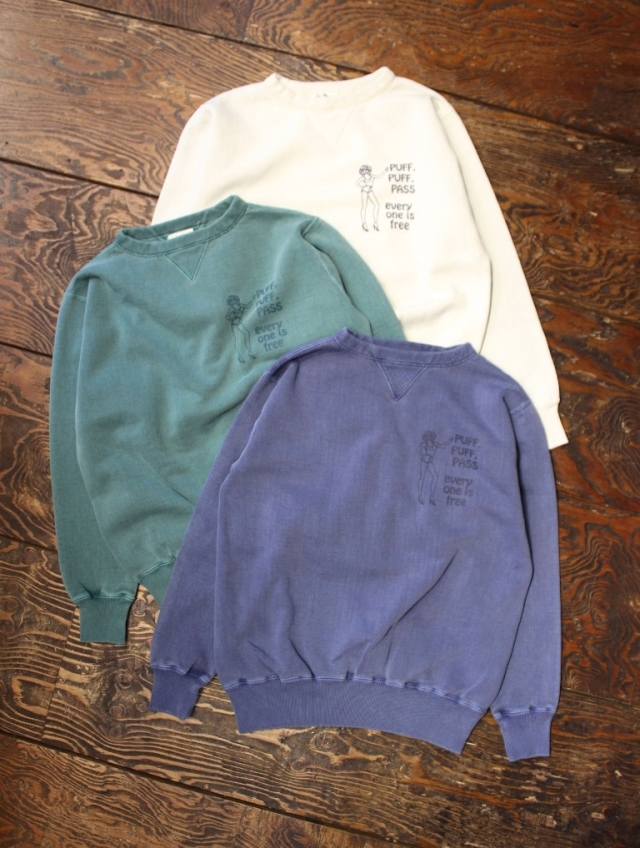 RADIALL   「PASS - CREW NECK SWEATSHIRT」 クルーネックスウェット