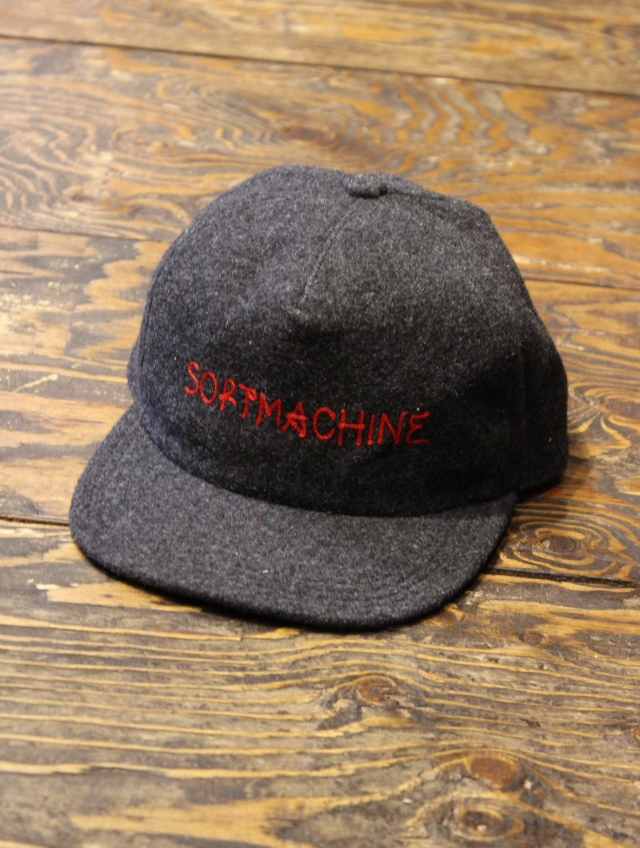 SOFTMACHINE   「GENIAL CAP」  ウールキャップ