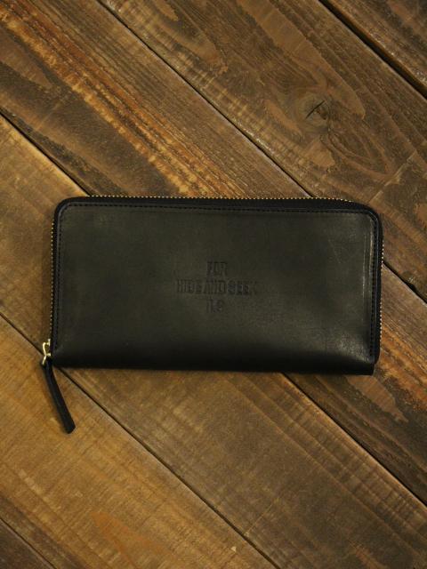 HIDEANDSEEK 「FOR H.S.Leather Wallet」 ラウンドジップ レザーロングウォレット