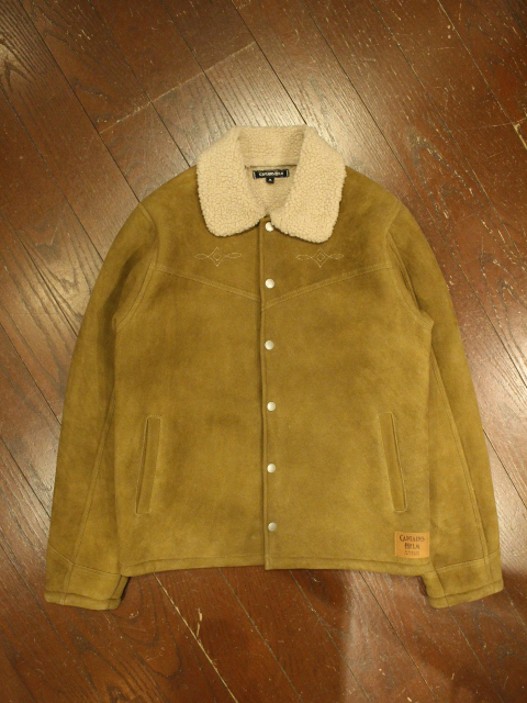 CAPTAINS HELM 「#SUEDE BOA RANCH COAT」 スウェードランチコート