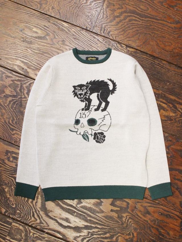 SOFTMACHINE  「OMINOUS SWEATER 」 ジャガードニットセーター
