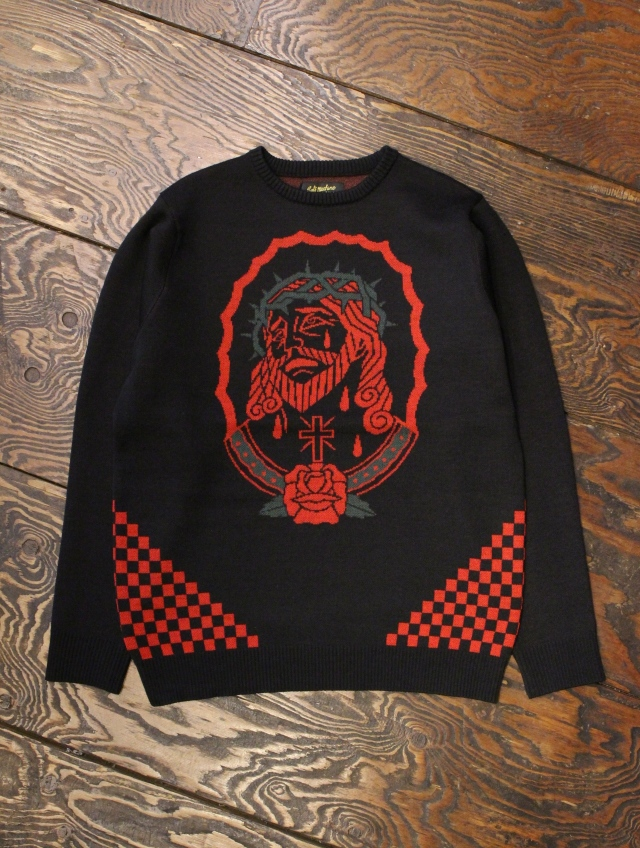 SOFTMACHINE  「 INRI SWEATER 」 ジャガードニットセーター