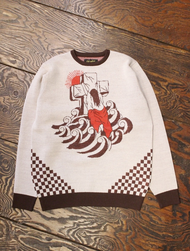 SOFTMACHINE  「 ROCK OF AGES SWEATER 」 ジャガードニットセーター