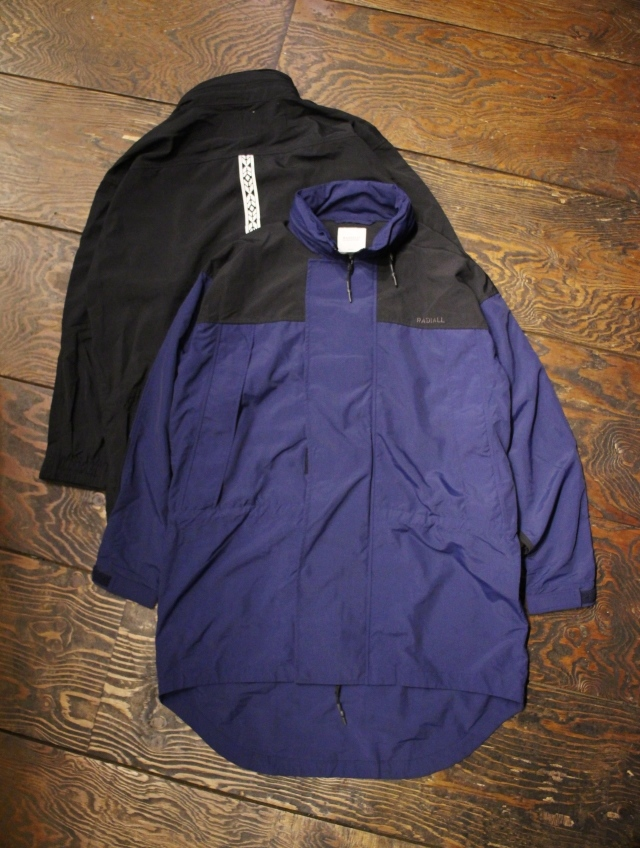 RADIALL  「RED WOOD - MONSTER PARKA LIGHT」  モンスターパーカー