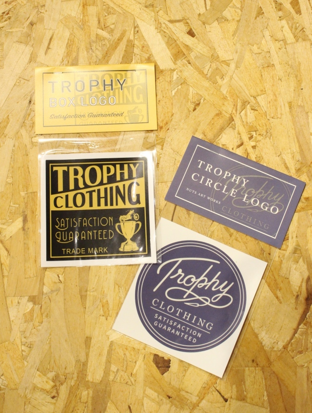 TROPHY CLOTHING    「Large Sticker」  ステッカー