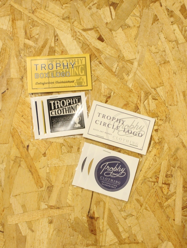 TROPHY CLOTHING    「Sticker SET 」  ステッカーセット