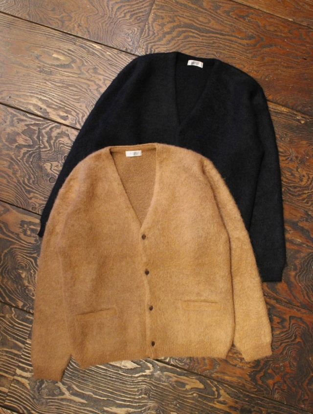 RADIALL  「ROOT DOWN - CARDIGAN SWEATER L/S」  モヘアカーディガン
