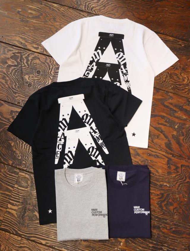 【 5月15日発売!】 M&M CUSTOM PERFORMANCE  「 PRINT S/S T-SHIRT 」 プリントティーシャツ