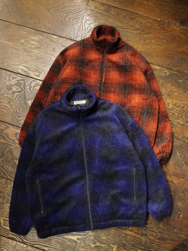 COOTIE  「 Ombre Boa Check Track Jacket 」 ボアチェック トラックジャケット