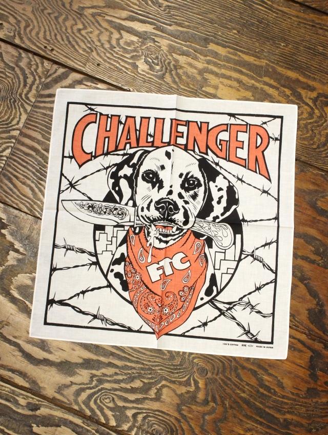 CHALLENGER × FTC   「FTC BANDANA」 バンダナ