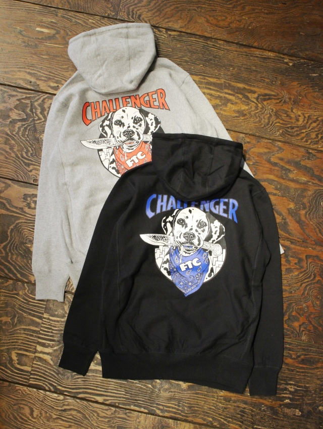 CHALLENGER × FTC   「PULLOVER HOODIE」 プルオーバーパーカー