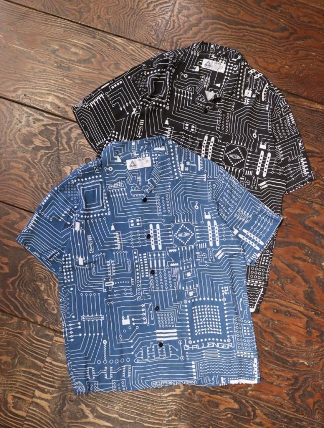 CHALLENGER    「S/S CIRCUIT SHIRT」  オープンカラーシャツ