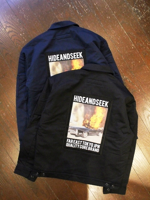 HIDEANDSEEK 「Twill Work Jacket」 ツイルワークジャケット