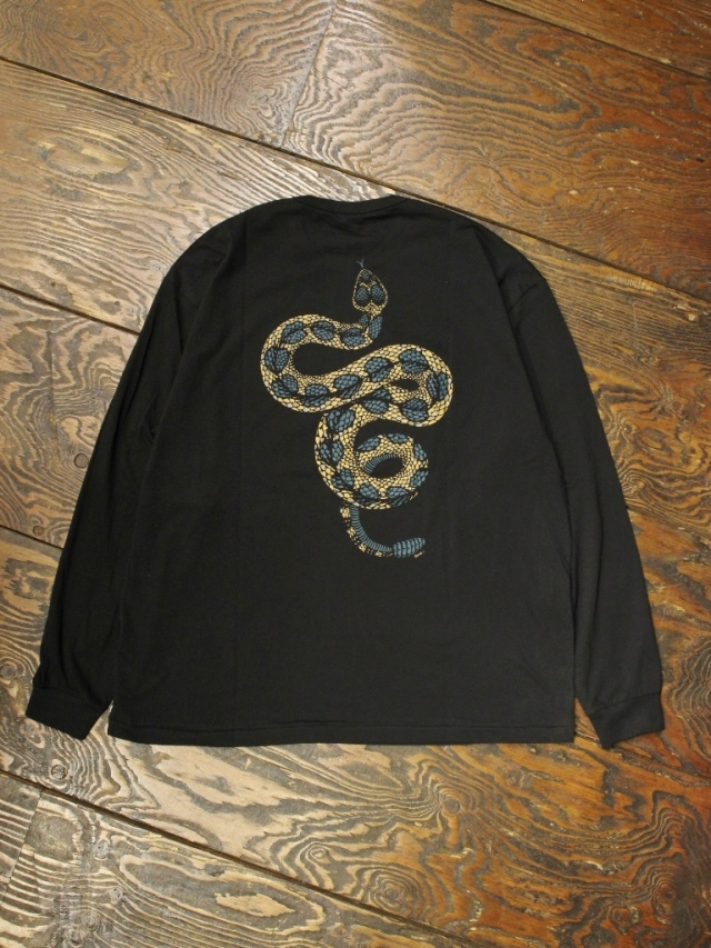 COOTIE  「 Print L/S Tee (GRIMB) 」 ロングスリーブティーシャツ