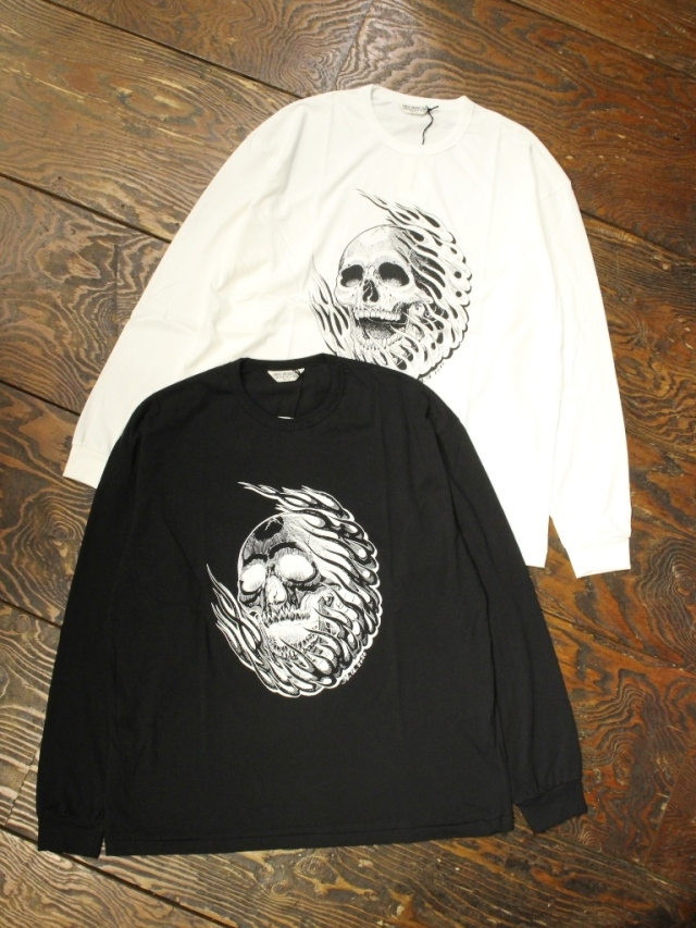 COOTIE  「 Print L/S Tee (MAGICAL DESIGN) 」 ロングスリーブティーシャツ