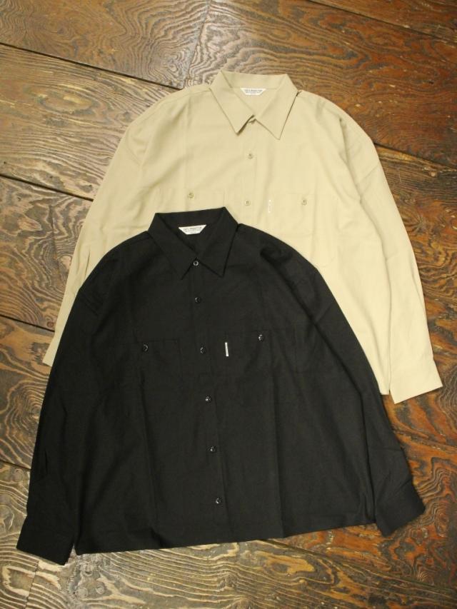 COOTIE  「 Hard Twist Yarn Gabardhine Work Shirt 」 ギャバジン ワークシャツ