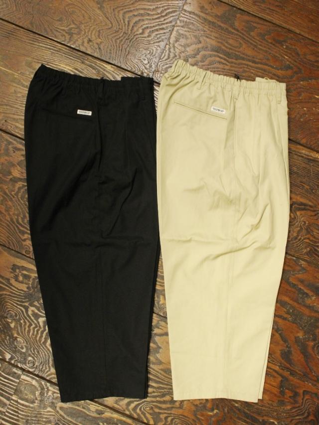 COOTIE  「 Ventile 2 Tuck Easy Pants 」 2タックイージーパンツ