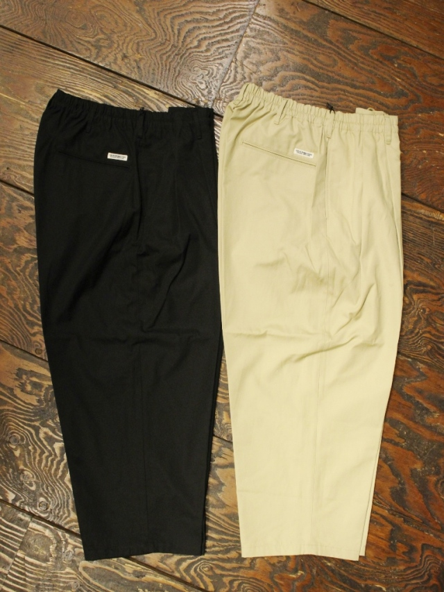 COOTIE  「 Ventile 2 Tuck Easy Pants 」 2タックイージーパンツ