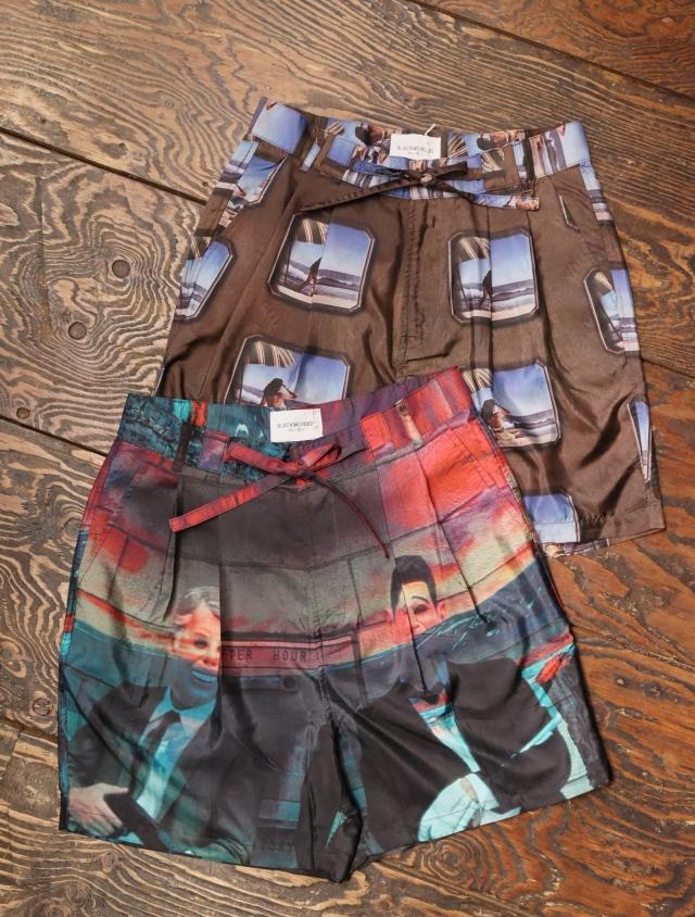 Black Weirdos  「 Silk Shorts 」 シルク製 ショーツ