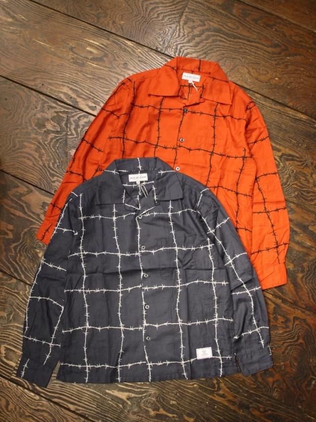 ROUGH AND RUGGED  「LAPULE LS」 オープンカラーシャツ