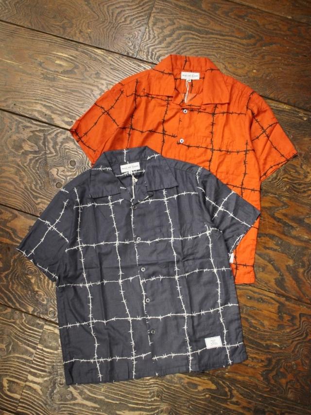 ROUGH AND RUGGED  「LAPULE SS」 オープンカラーシャツ
