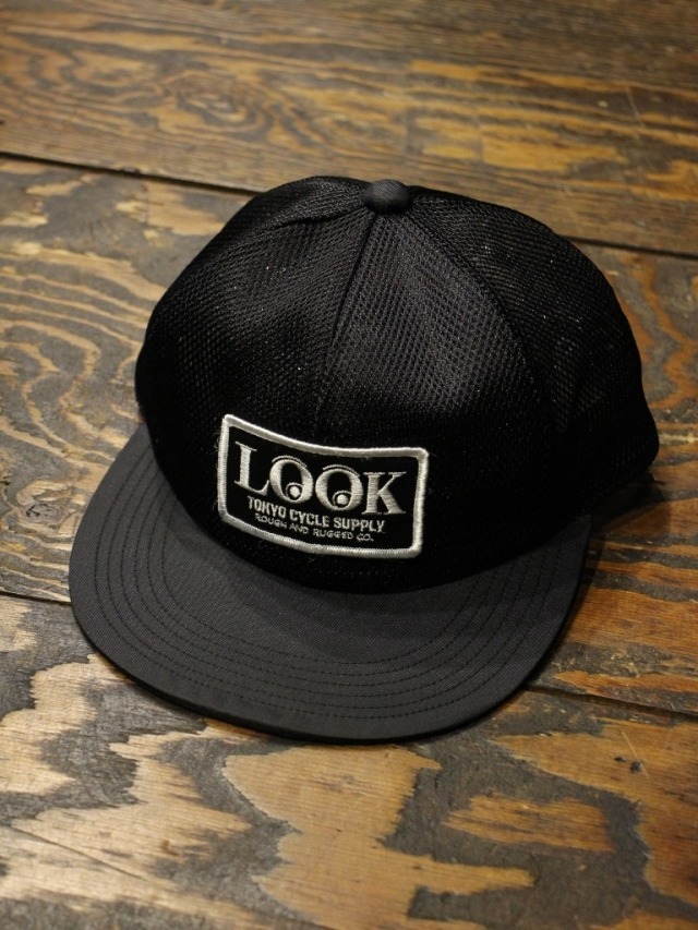 ROUGH AND RUGGED  「DESIGN CAP/LOOK」 メッシュキャップ