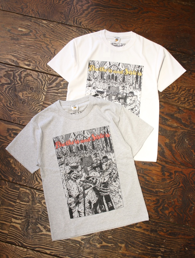 RADIALL × HIROTTON × NO ALL    「NOALL - CREW NECK T-SHIRT S/S」 プリントティーシャツ