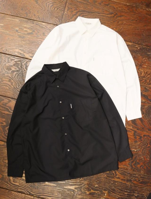 COOTIE  「 Supima Typewriter Shirt 」 レギュラーカラーシャツ
