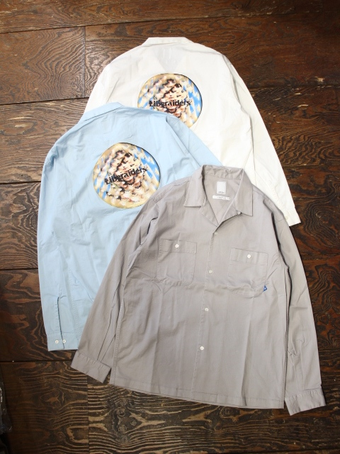 Liberaiders  「CIRCLE ACID SHIRT」 オープンカラーシャツ