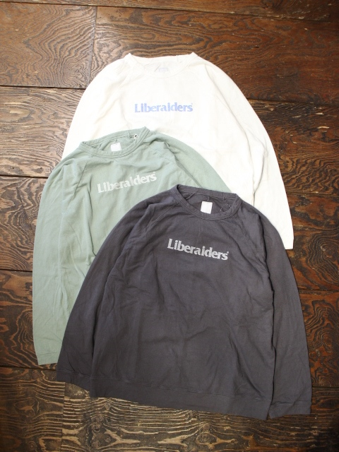 Liberaiders  「2LAYER CREWNECK」 クルーネックシャツ