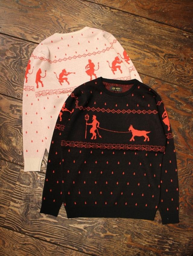 SOFTMACHINE  「NIGHTMARE SWEATER」  クルーネックセーター