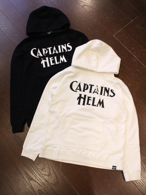 【NEW YEAR ITEM !!】 CAPTAINS HELM 「#BIG LOGO AUTHENTIC HOODIE」 プルオーバーパーカー