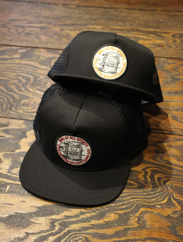 CUT RATE  「BEER WAPPEN MESH CAP」 メッシュキャップ