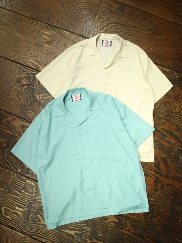 SON OF THE CHEESE  「Hook Shirt」  レーヨンオープンカラーシャツ